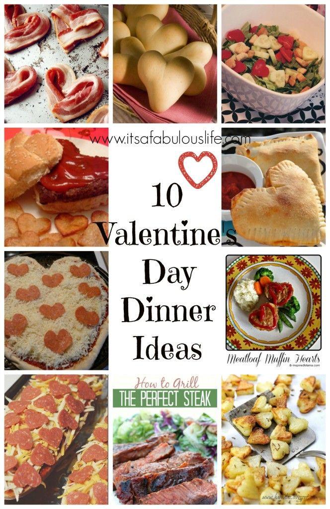 Valentine Dinners For Kids  10 Valentine s Day Dinner Ideas
