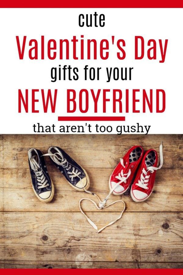 Valentine Gift Ideas For Boyfriend  20 Valentine's Day Gifts for Your New Boyfriend Unique