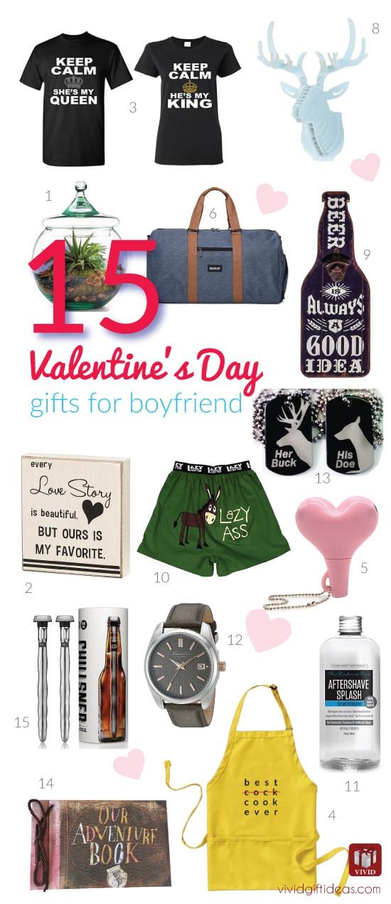 Valentine Gift Ideas For Boyfriend  15 Valentine s Day Gift Ideas for Your Boyfriend Vivid s