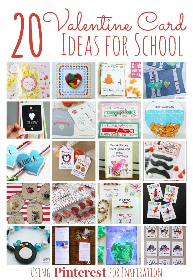 Valentine Gift Ideas For School  20 Adorable Homemade Valentines for Classmates The