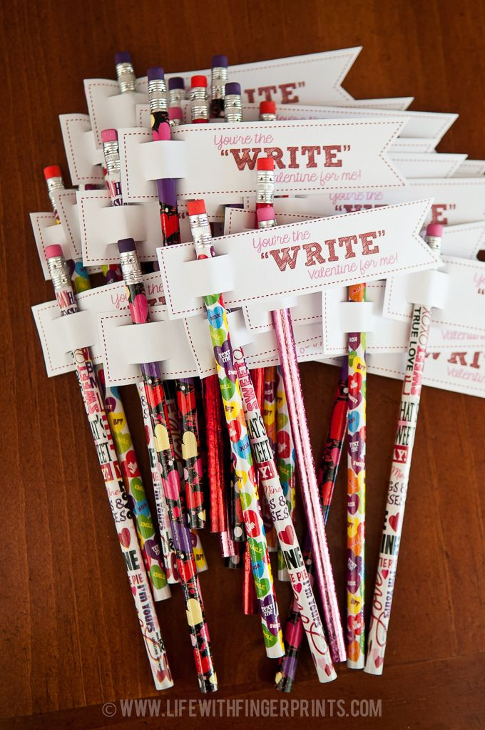 Valentine Gift Ideas For School  5 Ideas for No Candy School Valentines Pinteresting Plans