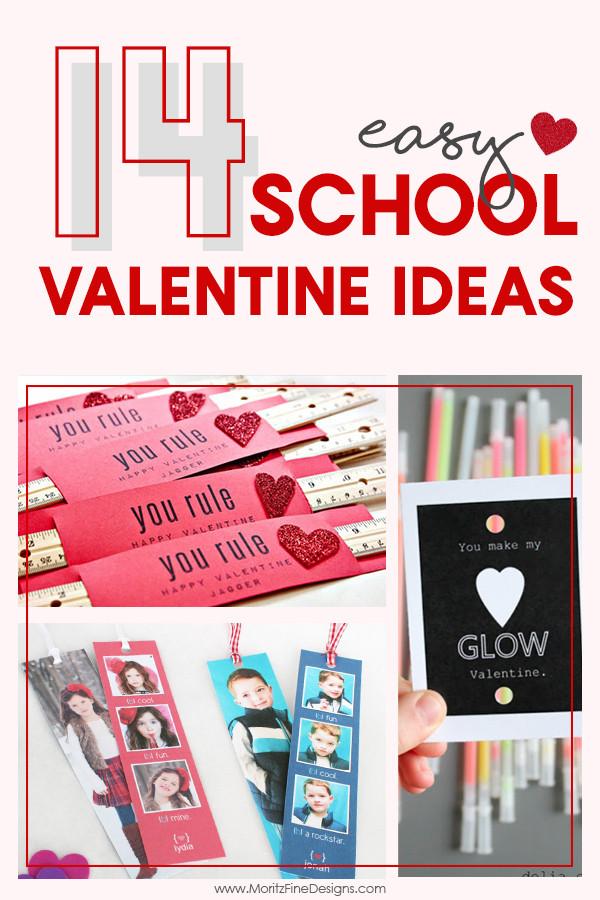 Valentine Gift Ideas For School  14 Easy School Valentine Ideas