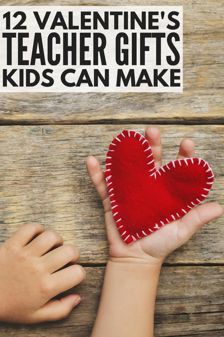 Valentine Gift Ideas For School  9 adorable DIY Valentine s Day teacher ts kids can make