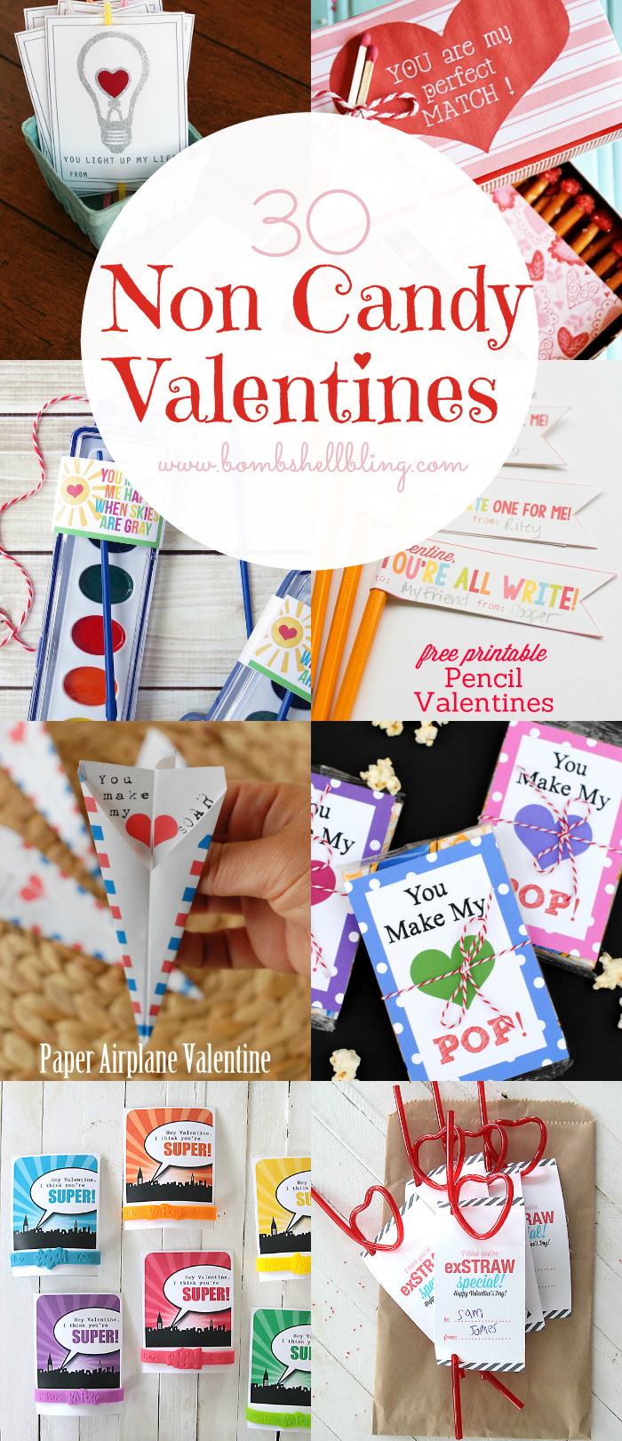 Valentine Gift Ideas For School  Non Candy Valentine Ideas & Printables Over 30 to Choose From
