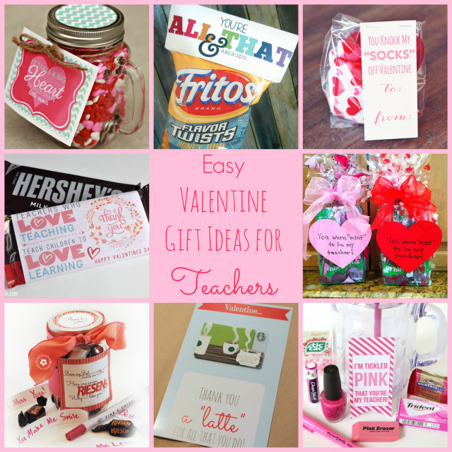 Valentine Gift Ideas For School  Easy Valentine Gift Ideas for the Teacher Happy Home Fairy
