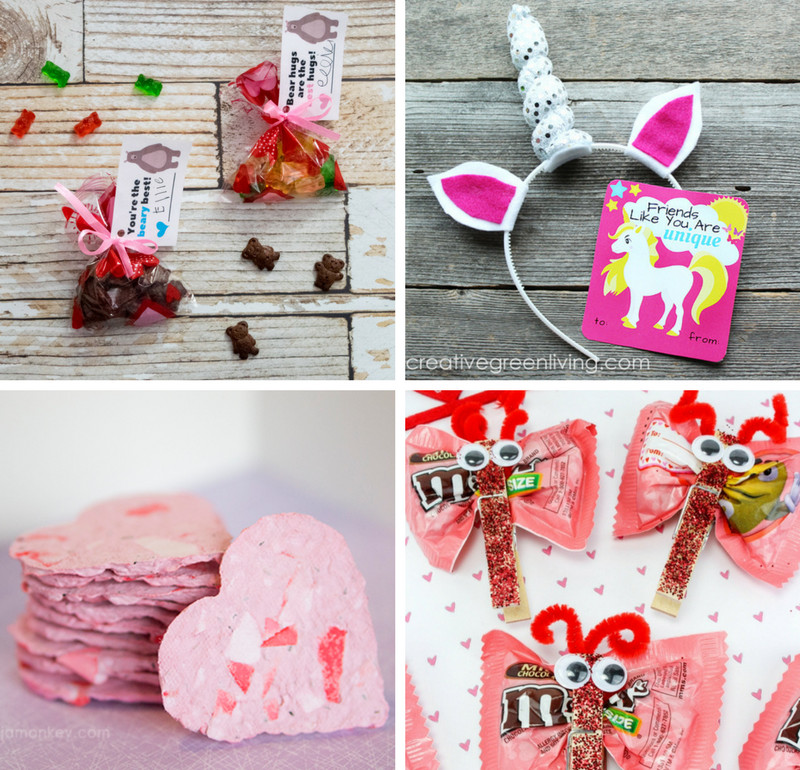 Valentine Gift Ideas For School  18 Fun and Easy DIY Kids Valentines for the Classroom