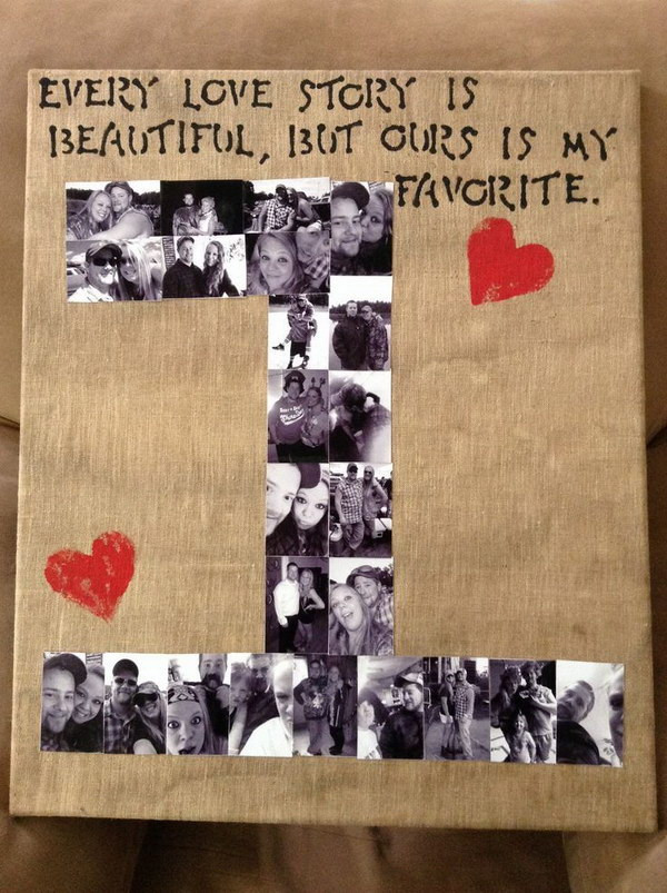 Valentine Gifts For Him DIY  25 Romantic DIY Valentine s Gifts for Him 2017