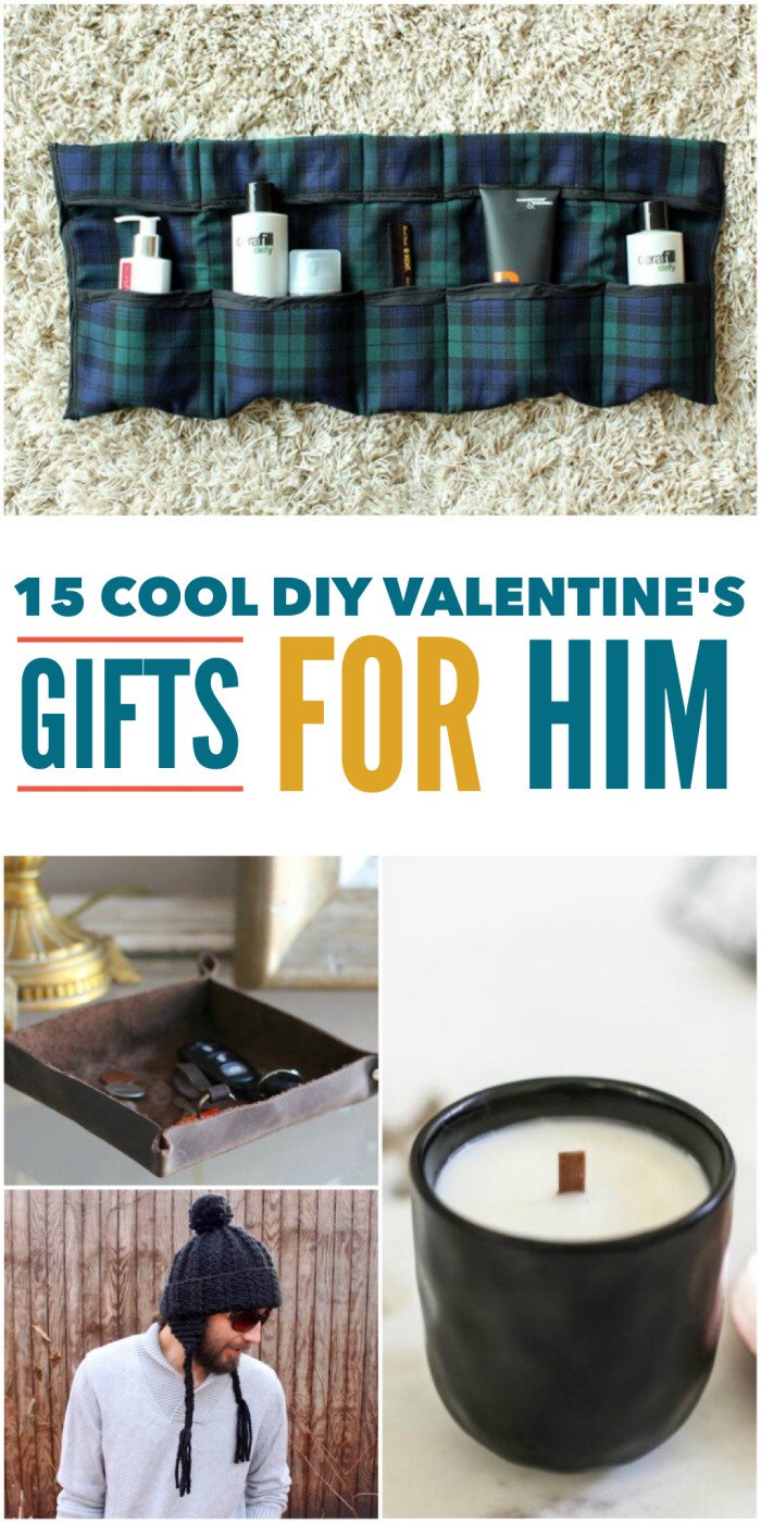 Valentine Gifts For Him DIY  15 Cool DIY Valentine s Day Gifts for Him