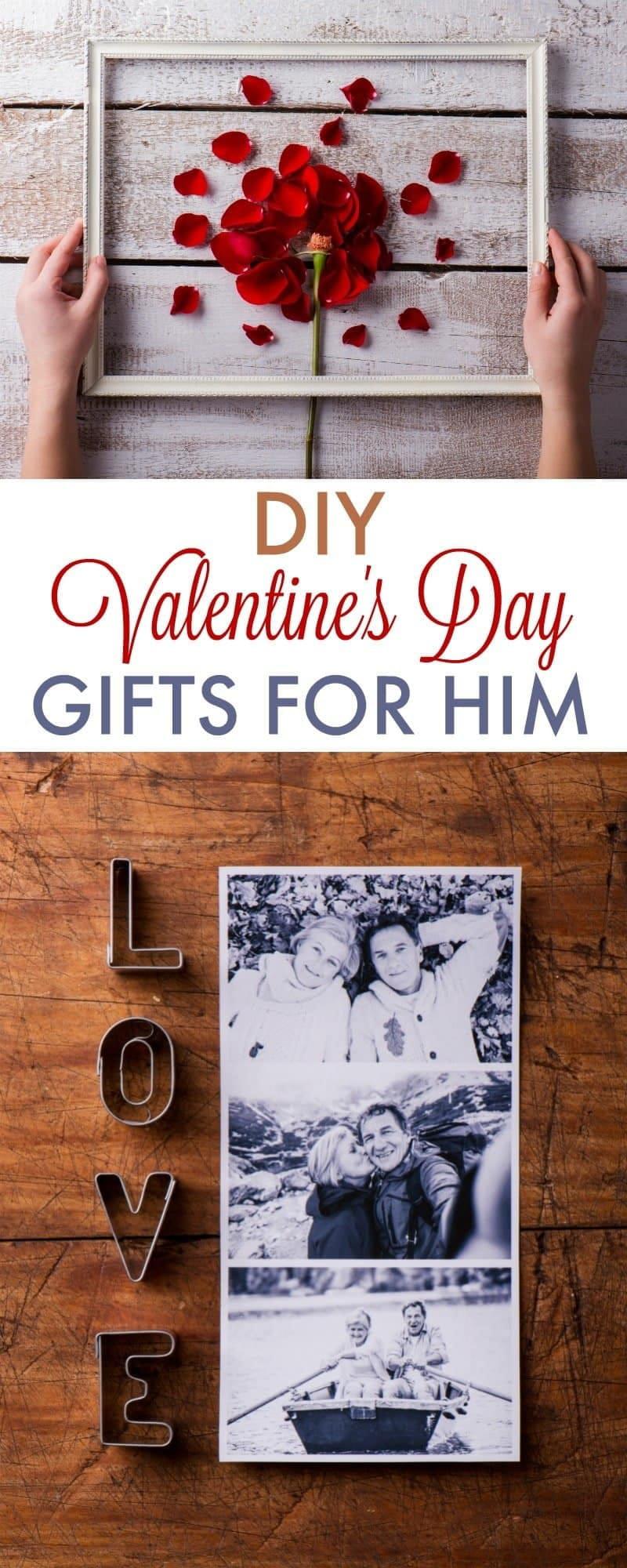 Valentine Gifts For Him DIY  DIY Valentine s Day Gifts for Boyfriend 730 Sage Street