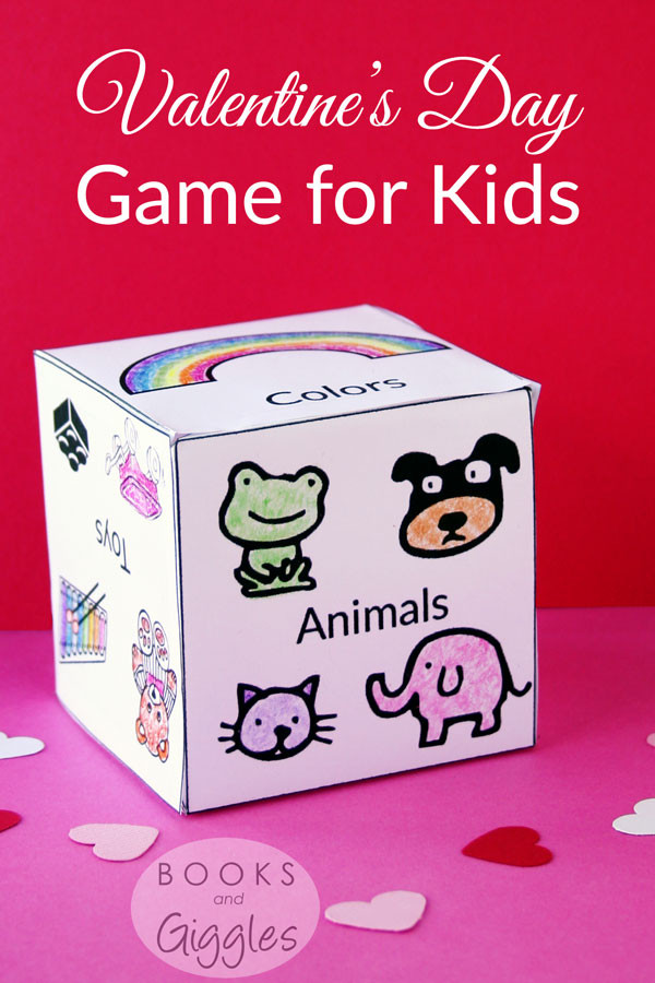 Valentine Party Games For Kids  Free Printable Valentine s Day Game for Kids