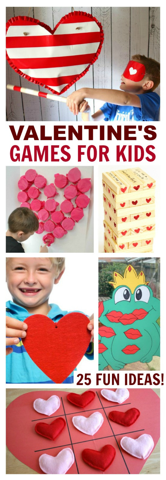 Valentine Party Games For Kids  Valentine s Games for Kids