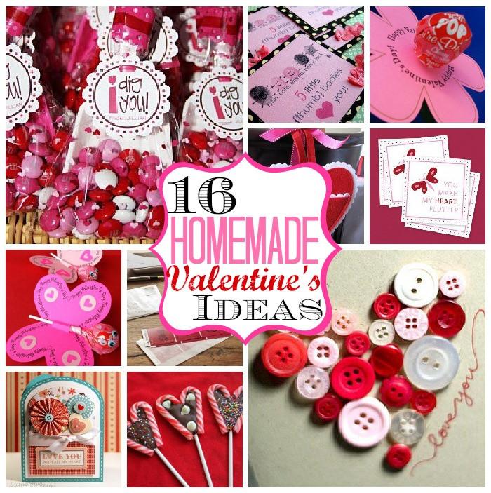 Valentine'S Day Gift Card Ideas  16 Homemade Valentine's Ideas