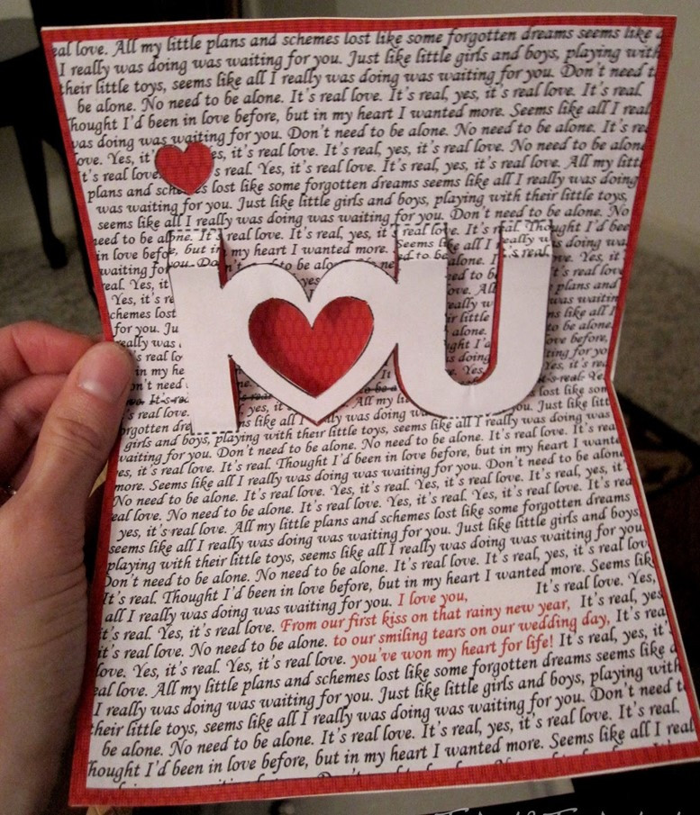 Valentine'S Day Gift Card Ideas  36 Valentine's Day ideas for cards and presents – DIY is FUN