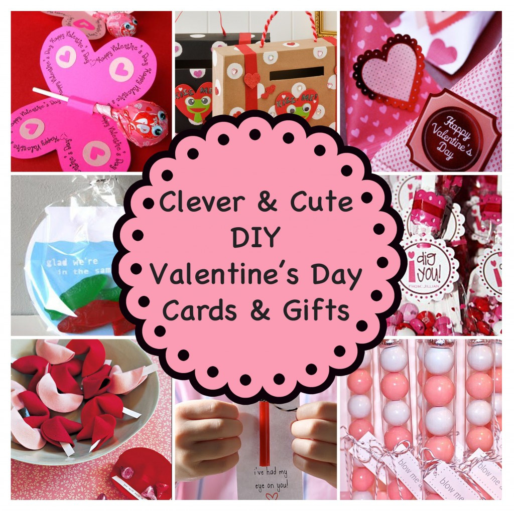 Valentine'S Day Gift Card Ideas  Clever and Cute DIY Valentine's Day Cards & Gifts
