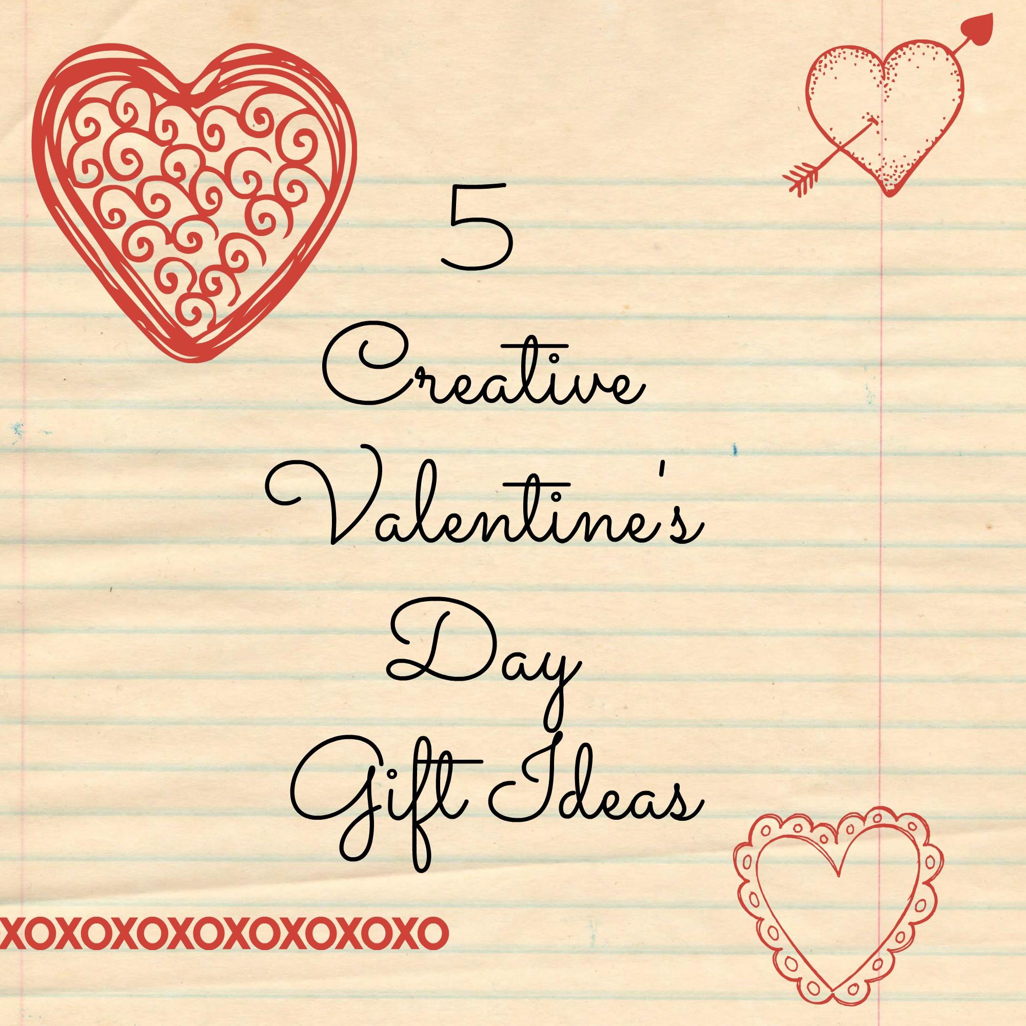 Valentine'S Day Gift Card Ideas  5 Creative Valentine's Day Gift Ideas
