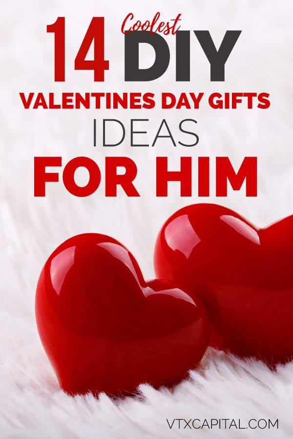 Valentines Day Gifts For Him DIY  11 Creative Valentine s Day Gifts for Him That Are Cheap