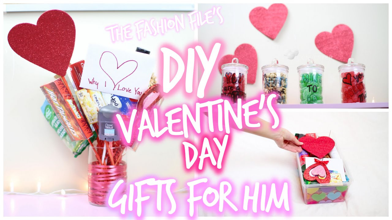 Valentines Day Gifts For Him DIY  DIY Valentine s Day Gifts For HIM