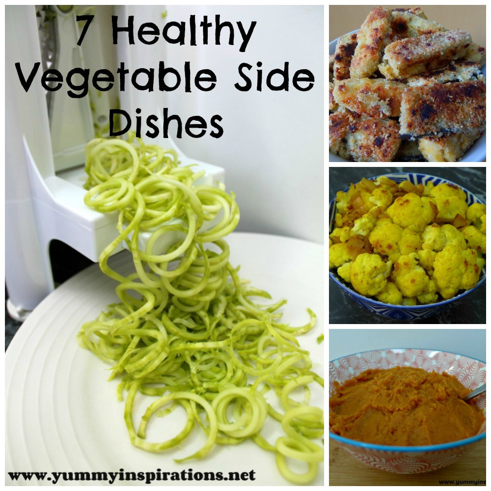 Vegetable Side Dishes Healthy  7 Healthy & Easy Ve able Side Dishes