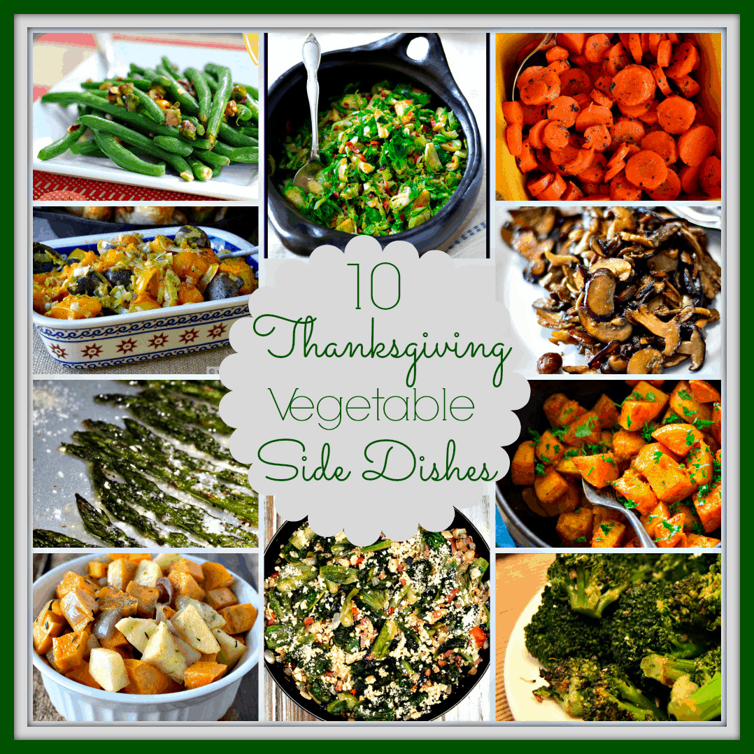 Vegetable Side Dishes Healthy  10 Ve able Side Dishes for Thanksgiving Upstate Ramblings