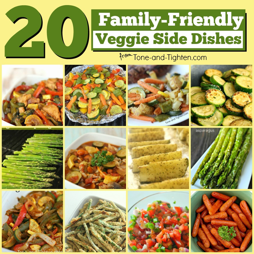 Vegetable Side Dishes Healthy  20 Healthy Ve able Side Dish Recipes
