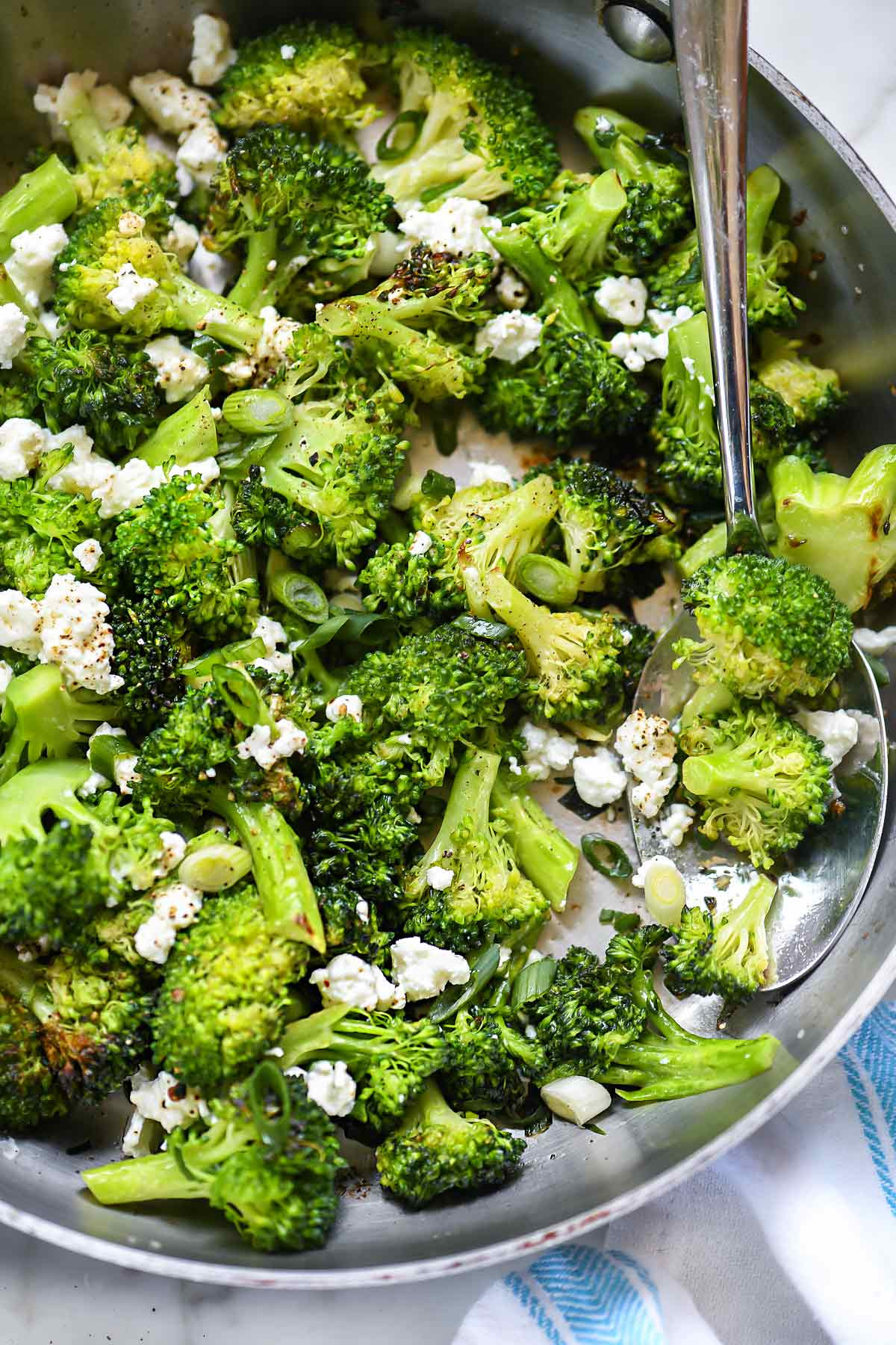 Vegetable Side Dishes Healthy  Easy Broccoli with Feta Cheese