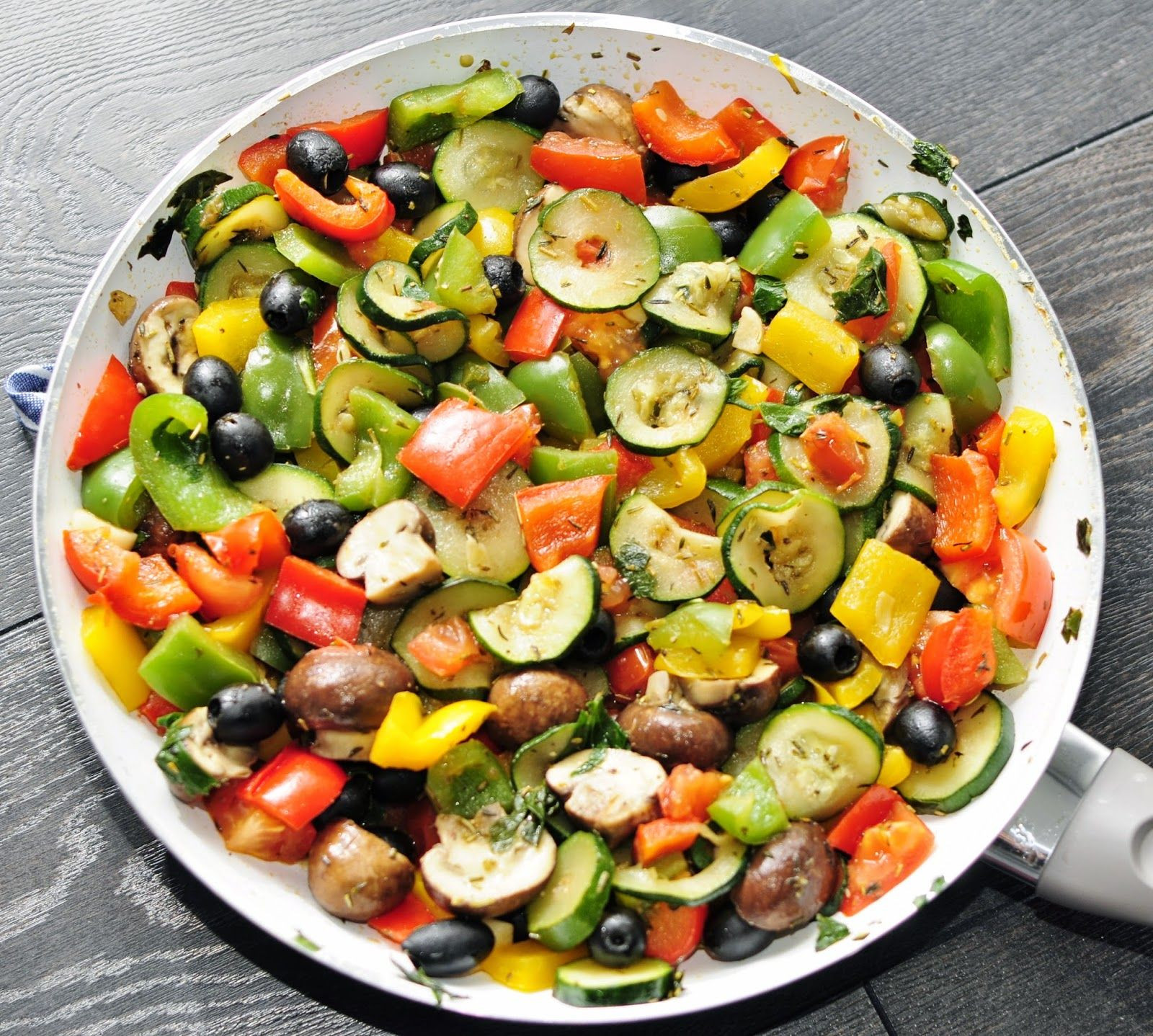 Vegetable Side Dishes Healthy  Rainbow Ve able Side Recipe