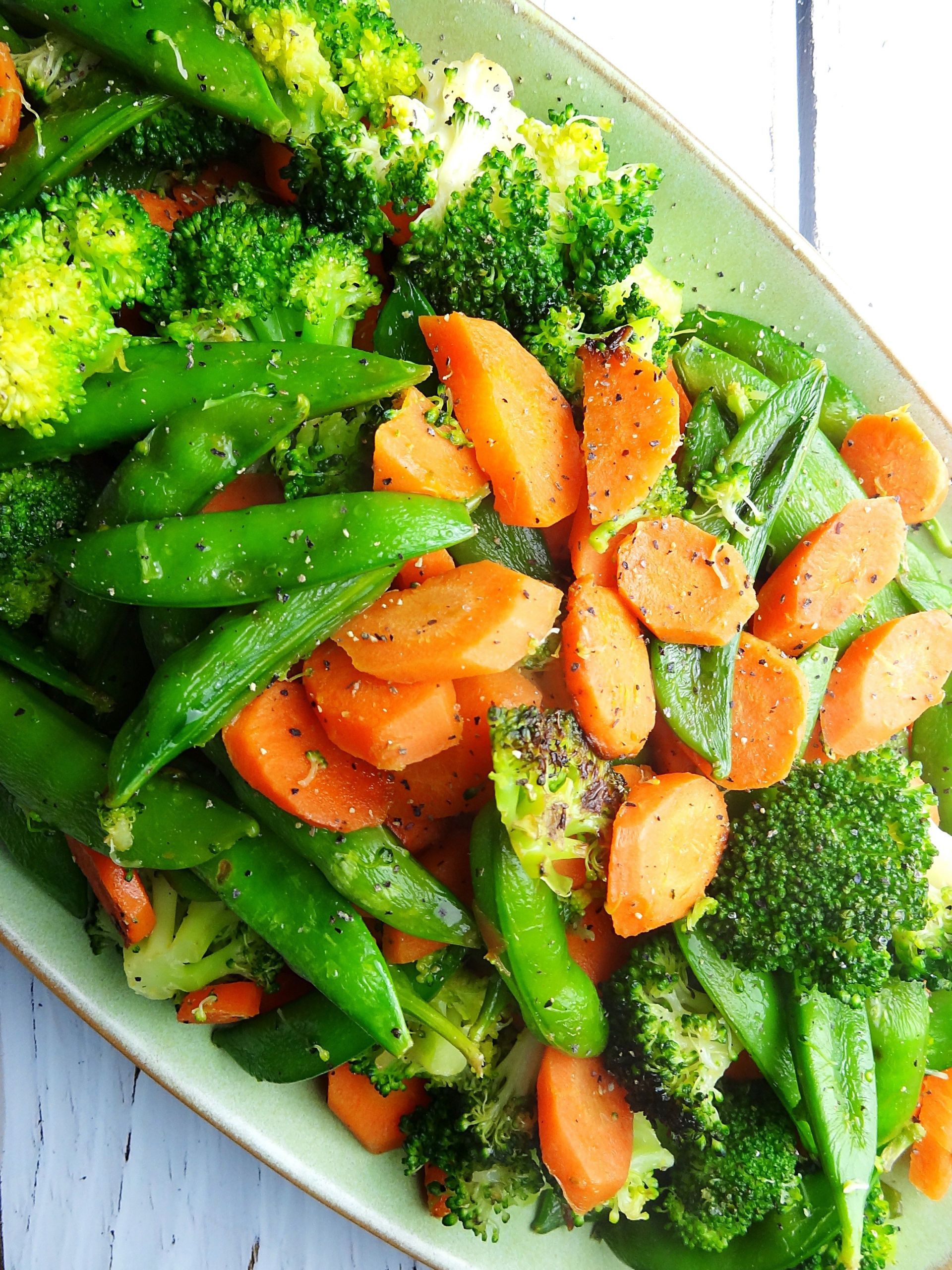 Vegetable Side Dishes Healthy  This simple and easy side dish of sauteed veggies is