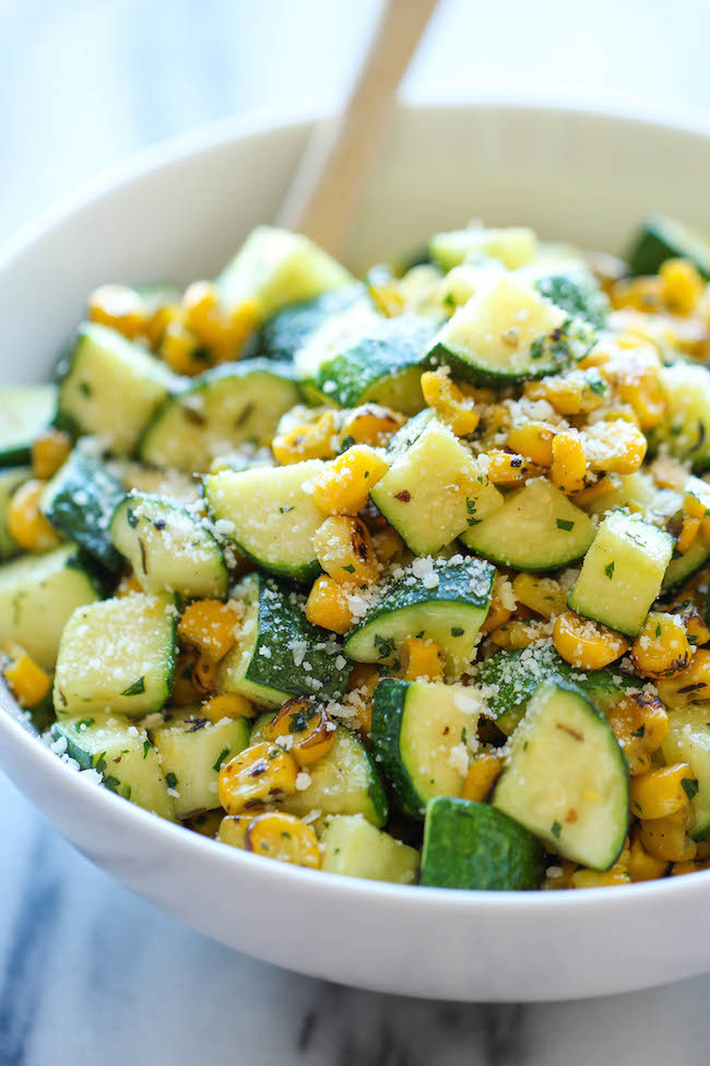 Vegetable Side Dishes  Eat Your Veggies 10 Ve able Side Dishes Domestic Charm