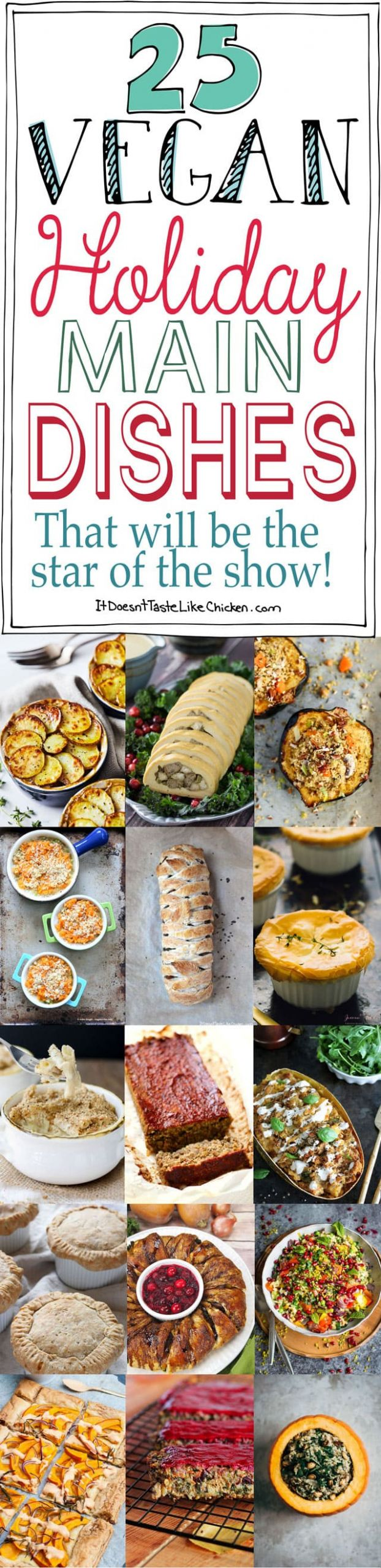 Vegetarian Holiday Main Dishes  25 Vegan Holiday Main Dishes That Will Be The Star of the