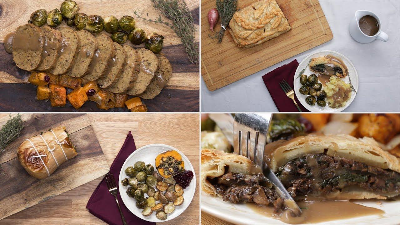 Vegetarian Holiday Main Dishes  3 Ve arian Holiday Main Dishes