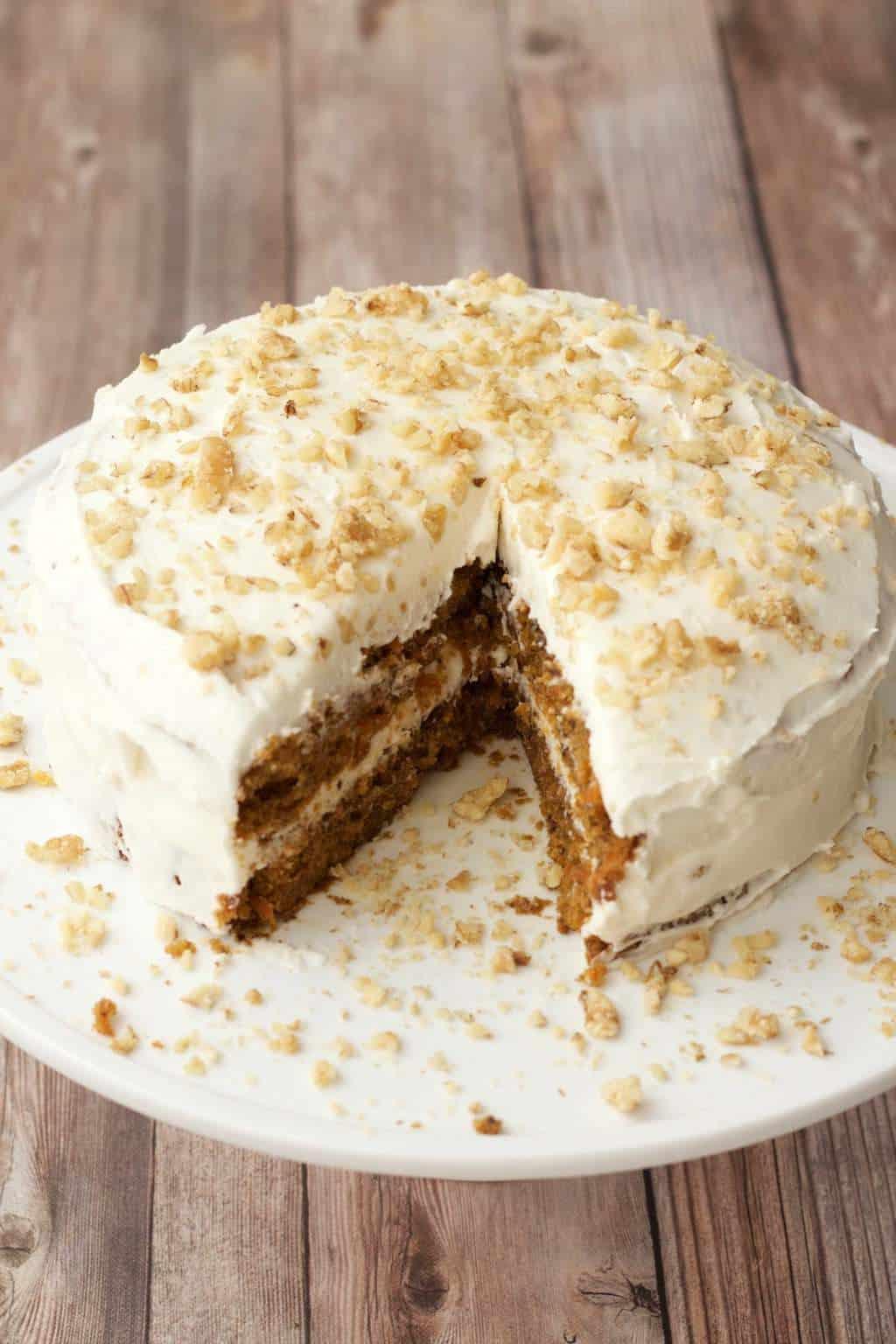 Vegetarian Lemon Cake Recipe  Vegan Carrot Cake Loving It Vegan