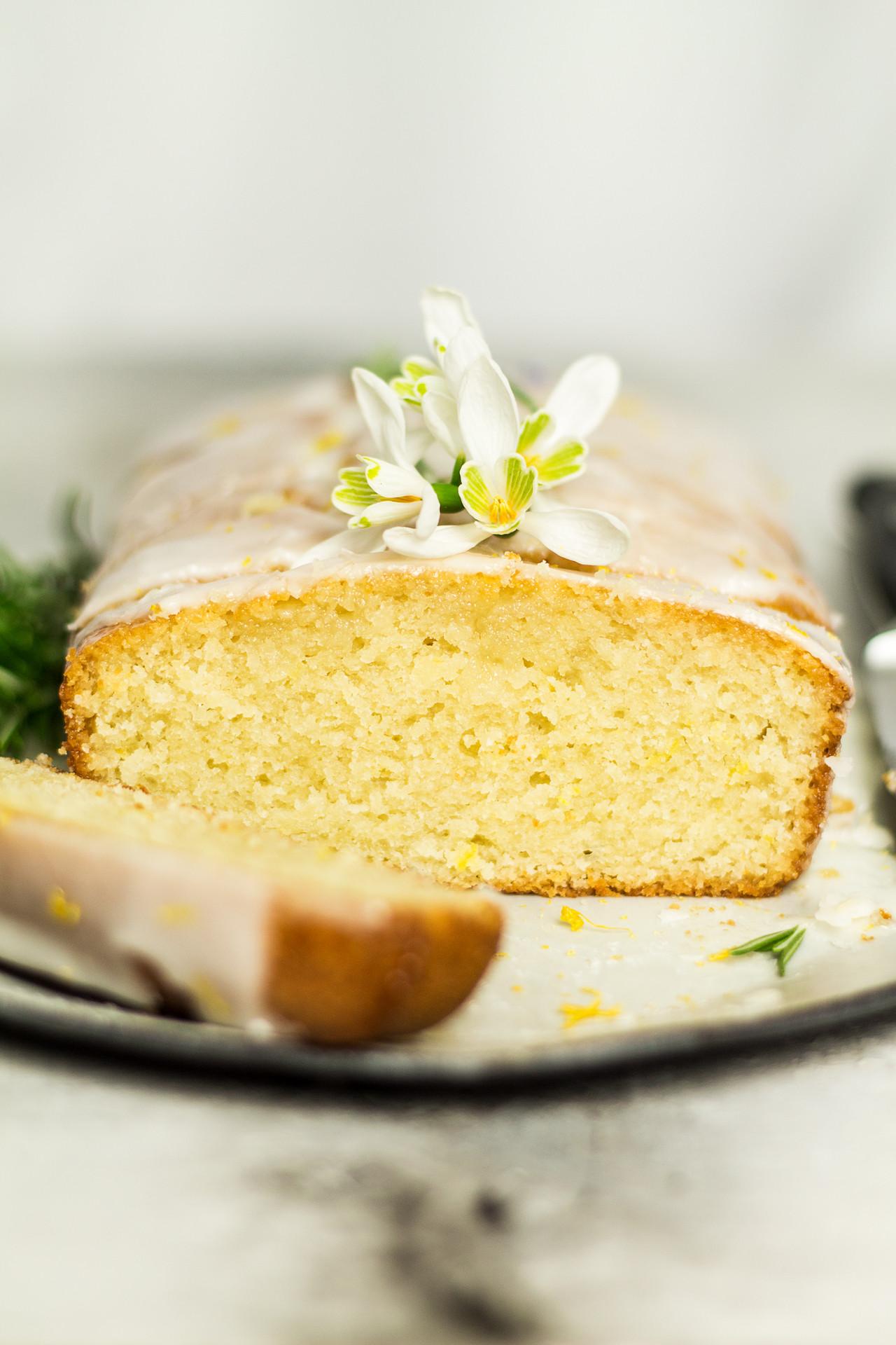 Vegetarian Lemon Cake Recipe  Vegan lemon drizzle cake Lazy Cat Kitchen