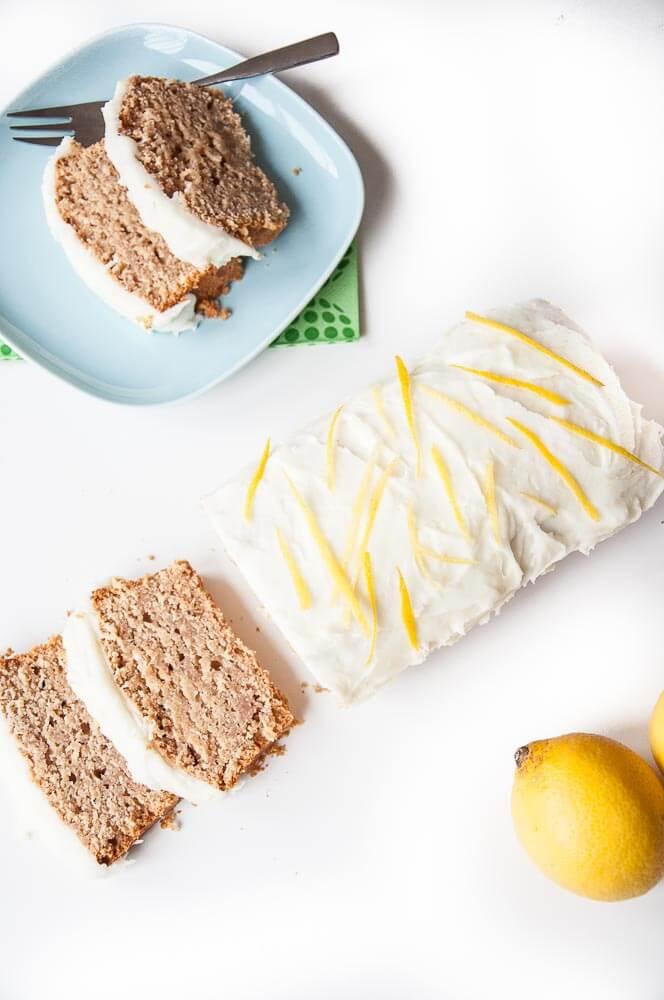 Vegetarian Lemon Cake Recipe  Vegan Lemon Loaf Cake Vegan Family Recipes