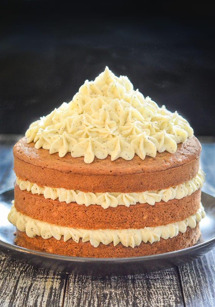 Vegetarian Lemon Cake Recipe  Earl Grey Vegan Cake with Lemon Frosting A Virtual Vegan