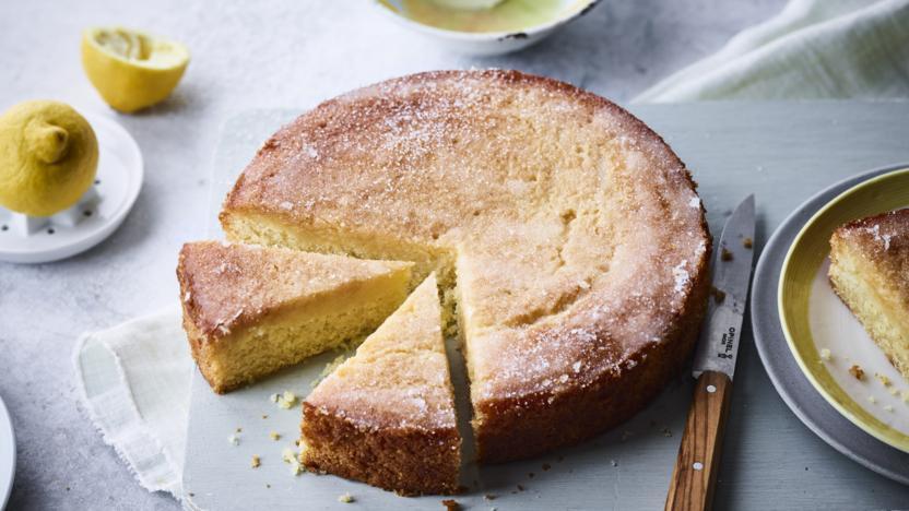 Vegetarian Lemon Cake Recipe  Vegan lemon drizzle cake recipe BBC Food