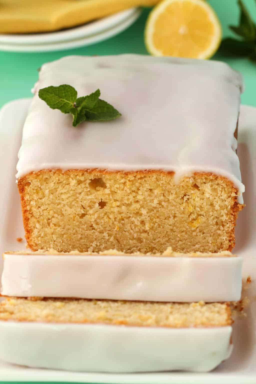 Vegetarian Lemon Cake Recipe  Vegan Lemon Pound Cake with Lemon Glaze Loving It Vegan