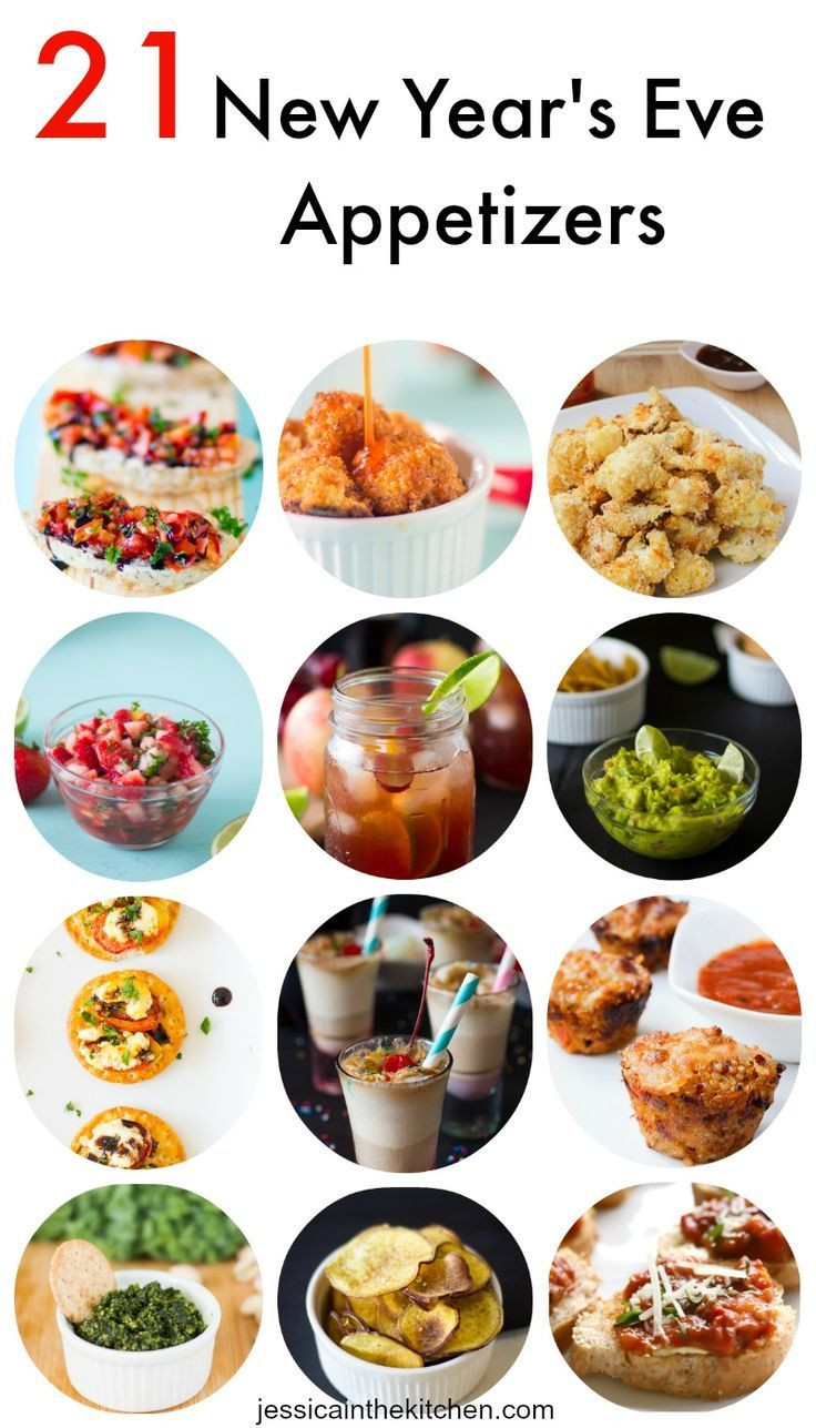 Vegetarian New Year Eve Recipes  21 New Year s Eve Appetizers including drinks and dips to