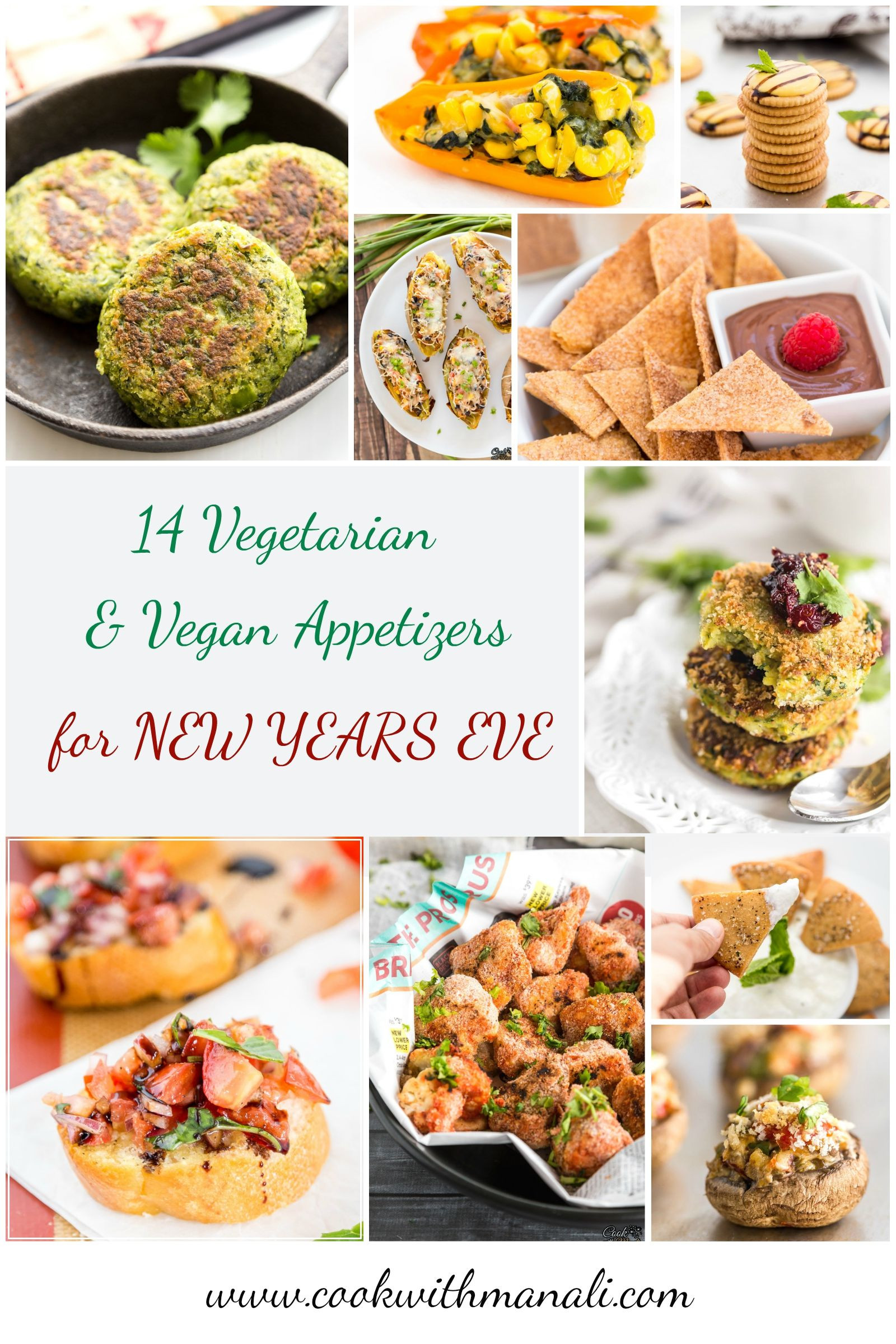 Vegetarian New Year Eve Recipes  14 Ve arian Vegan Appetizers for New Years Eve