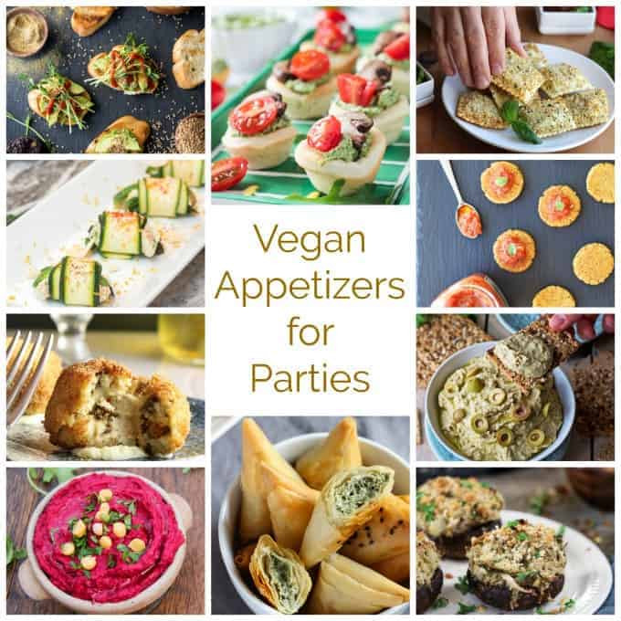 Vegetarian New Year Eve Recipes  Appetizers for New Year's Eve 2017