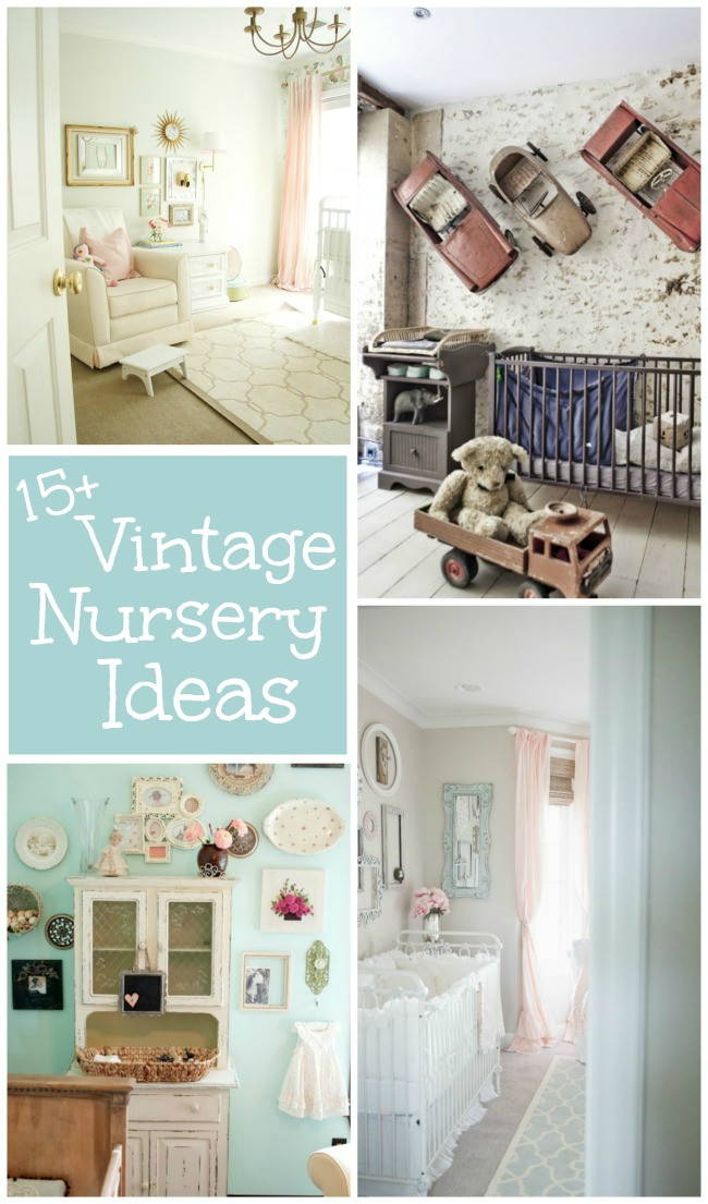 Vintage Baby Nursery Decor  15 Vintage Nursery Ideas Design Dazzle