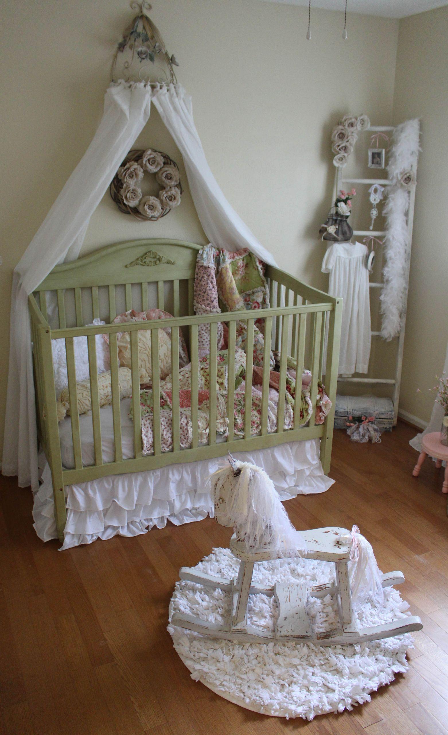 Vintage Baby Nursery Decor  Vintage Inspired Shabby Chic Nursery Project Nursery