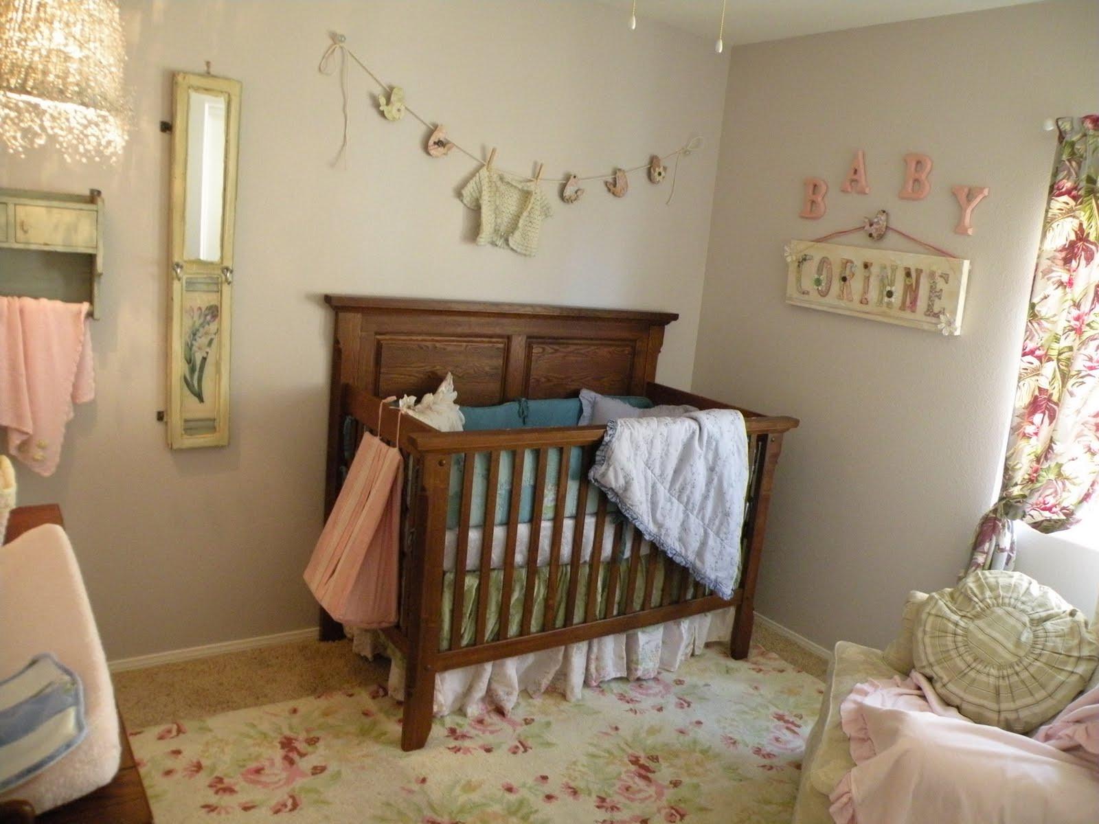 Vintage Baby Nursery Decor  Vintage Eclectic Girl s Baby Nursery Design Dazzle