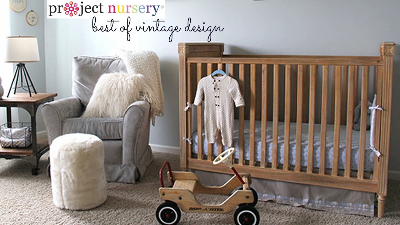 Vintage Baby Nursery Decor  Project Nursery Best of Vintage Decor in the Baby s Room