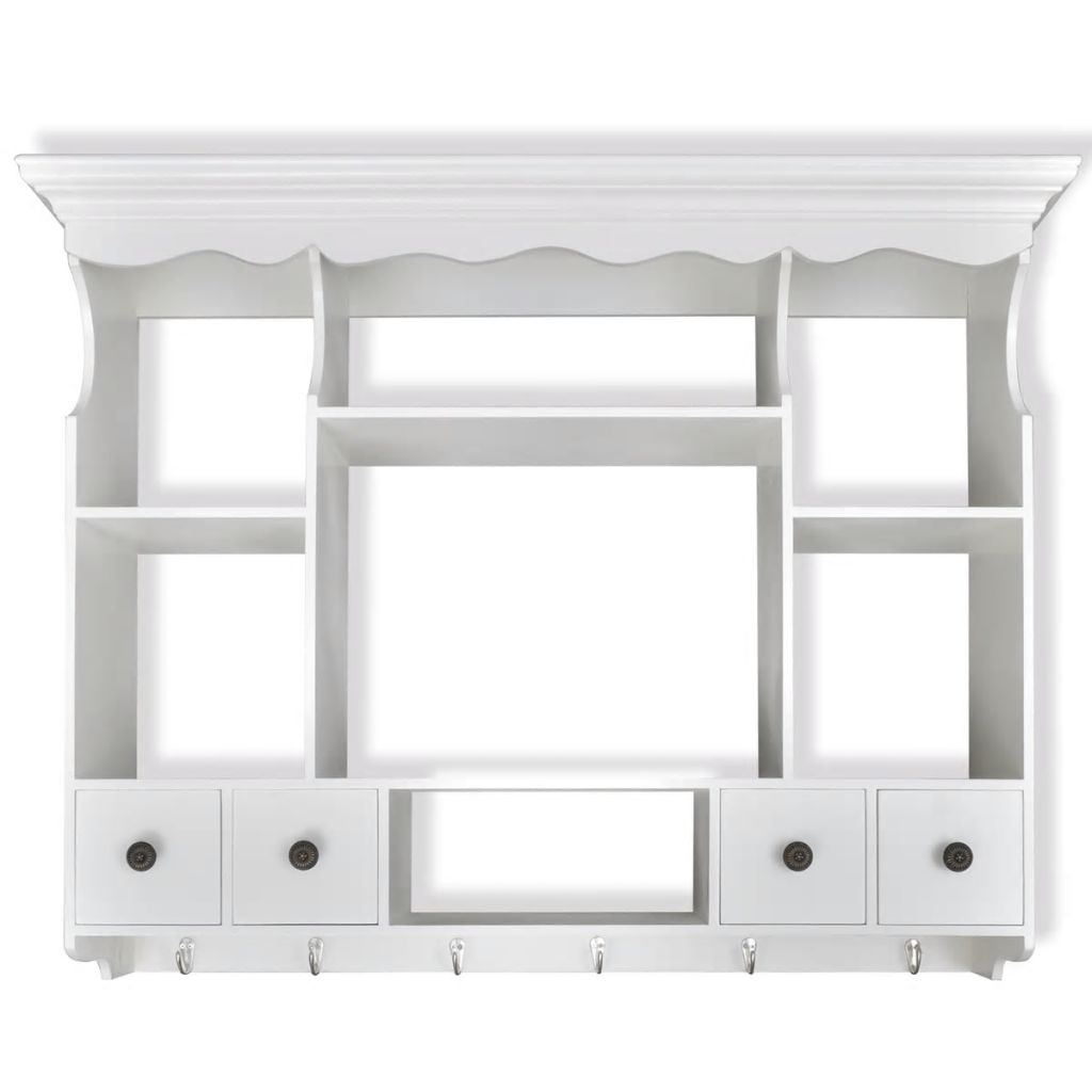 Wall Cabinet Kitchen  White Wooden Kitchen Wall Cabinet