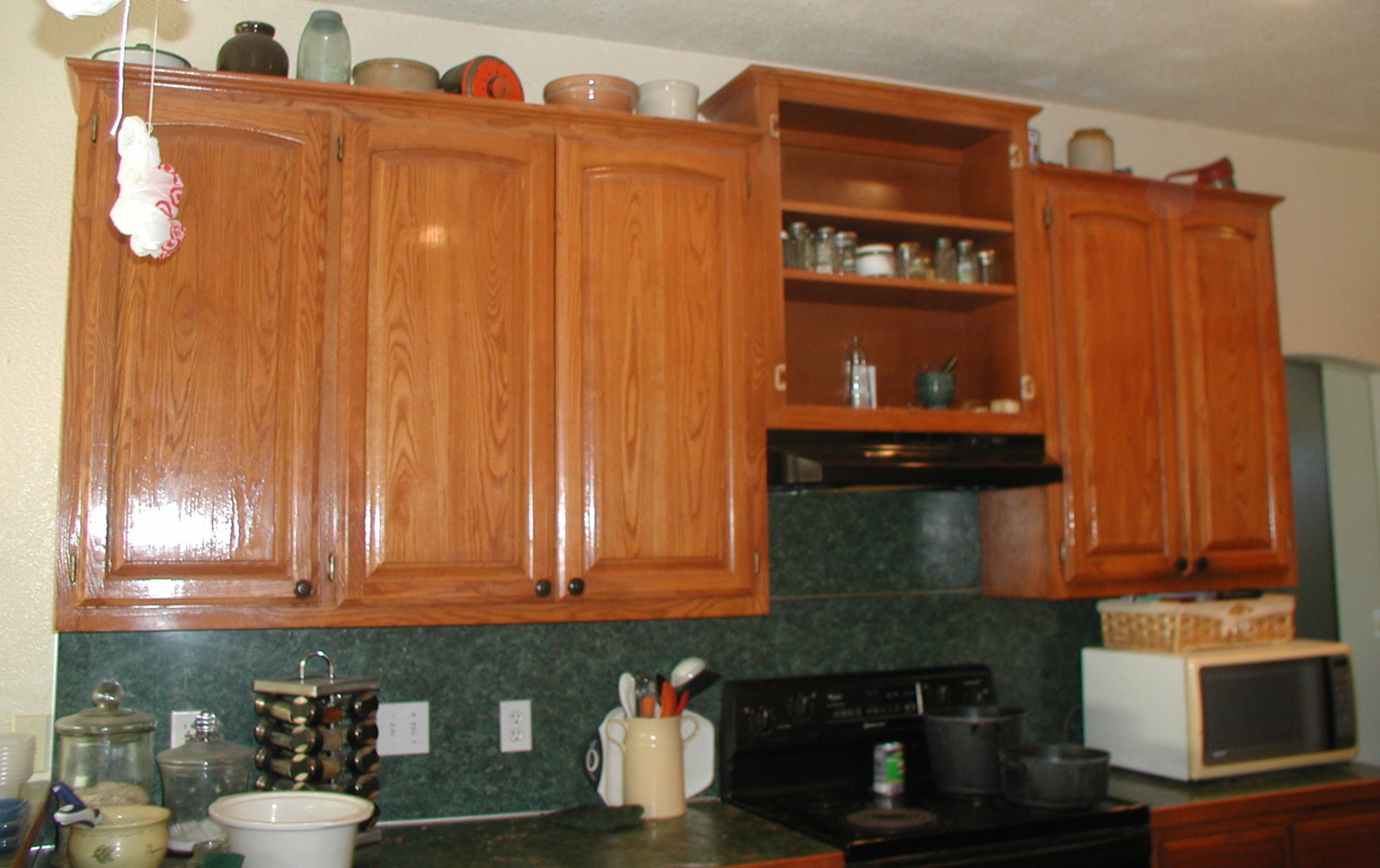 Wall Cabinet Kitchen  Project making an upper wall cabinet taller kitchen