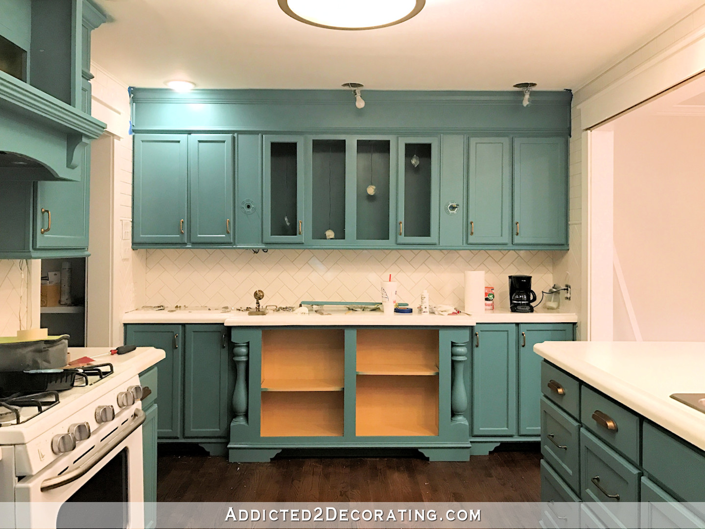 Wall Cabinet Kitchen  April Progress & May Goals