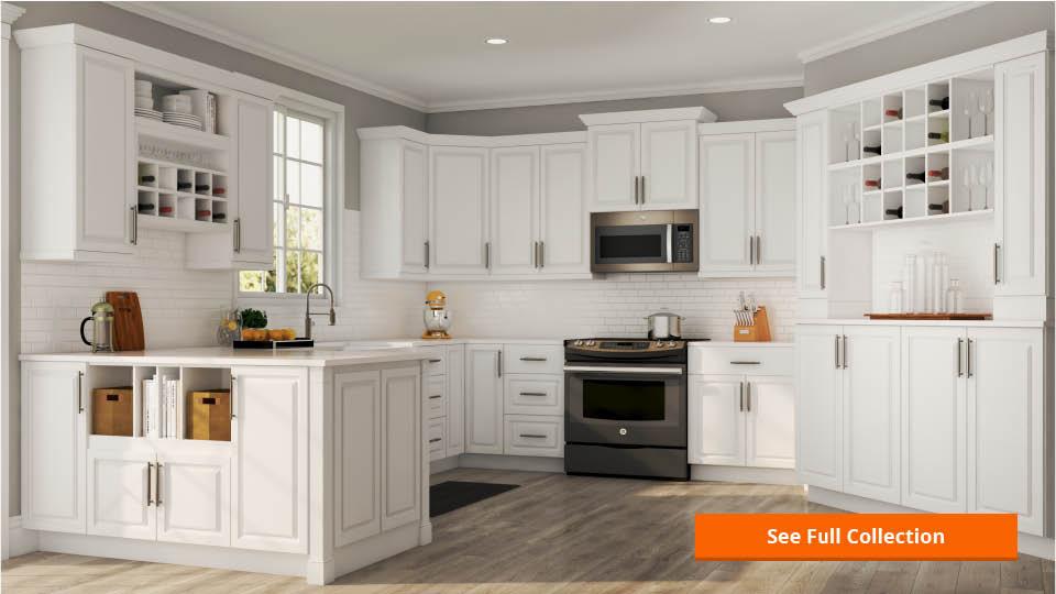 Wall Cabinet Kitchen  Hampton Bay Shaker Assembled 30x42x12 in Wall Kitchen