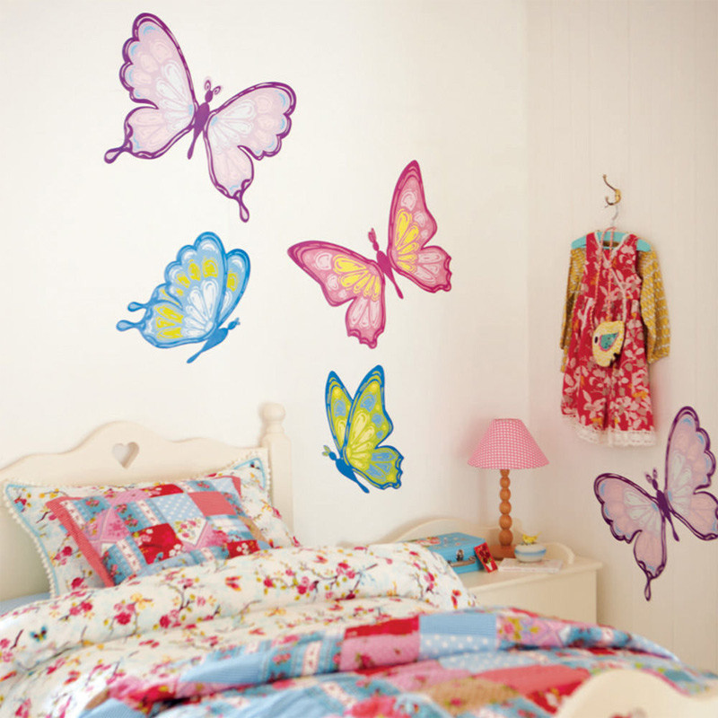 Wall Decals For Girl Bedroom  10 Cool Girls Room Wall Stickers