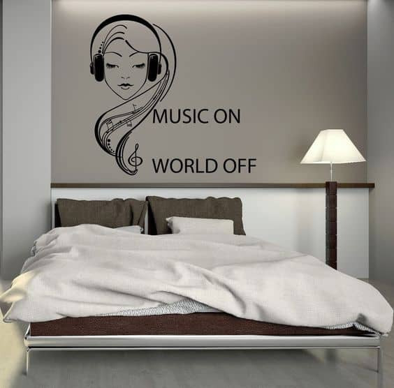 Wall Decals For Girl Bedroom  18 Teenage Bedroom Ideas Suitable For Every Girl