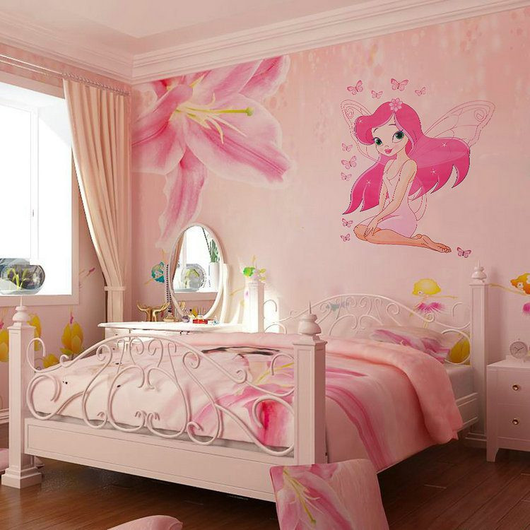 Wall Decals For Girl Bedroom  Adorable Wall Stickers for Girl Bedrooms